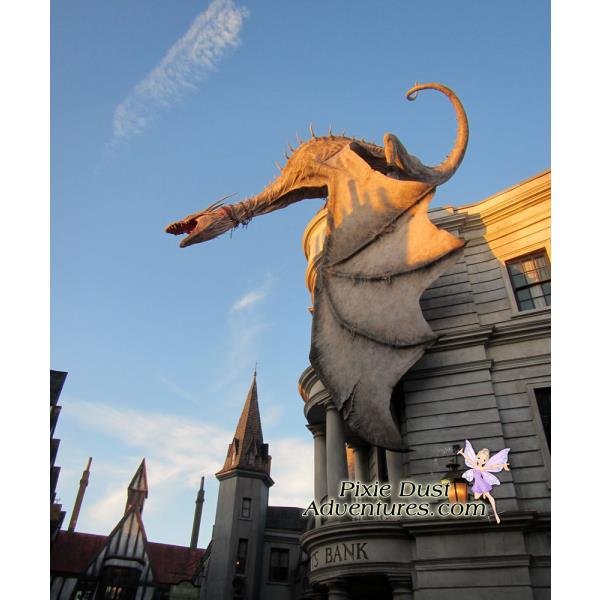 Gringotts Bank Dragon-1